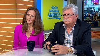 "Fred and Kim Goldman speak out on ""GMA"" on the possibility of Simpson, who was accused of killing their son and brother, Ron Goldman, being freed from prison."