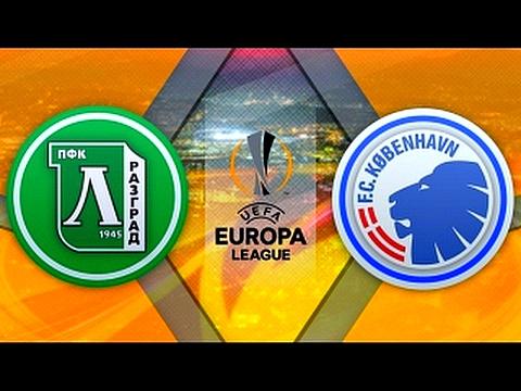 Ludogorets 1-2 Copenhagen. UEFA Europa League