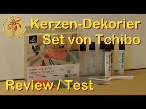Review / Test: Kerzen-Dekorier-Set von Tchibo