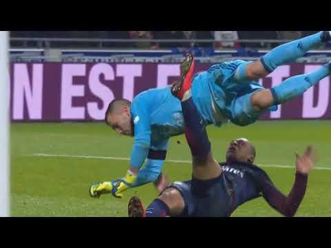 Lyon vs PSG (2 -1)   Ligue 1 21 01 2018 HD