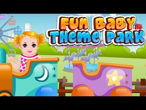 Fun Baby in Theme Park gamplay for little kids by BOKGames