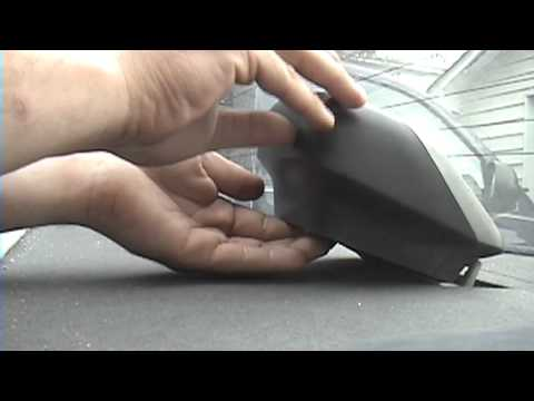 1995-1996 Nissan Maxima: Third brake light replacement