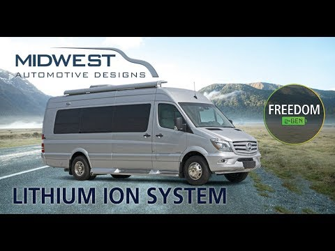 MidWest RV Lithium Ion System