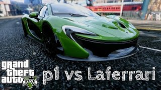 Best Mclaren P1  Car Mod that finally release in GTA 5 and i had compare with Laferrari . Please let us know in down below which one is the best super car. Watch it . Like it . Thumb up .GTA 5 McLaren P1 vs Laferrari [Car MOD]McLaren P1 Mod : http://www.gtainside.com/en/gta5/cars/77996-mclaren-p1-2014/Laferrari Mod : http://www.gtainside.com/en/gta5/cars/77790-2013-ferrari-laferrari/Music : Troyboi - ilihttps://soundcloud.com/troyboiThank For watching :) .