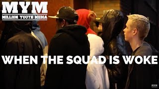 This is what happens when the squad is woke and bands together to support their party! Change is happening amongst the youth with movements like Grime4Corbyn and more youth registering than ever before. This short film shows what its about to TURN UP on June 8th
