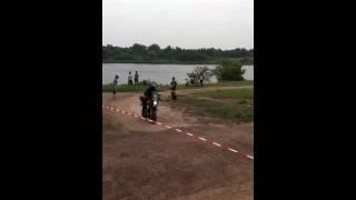 9. Versys jump at the Kawasaki Basic Enduro Course, June 26th, 2011