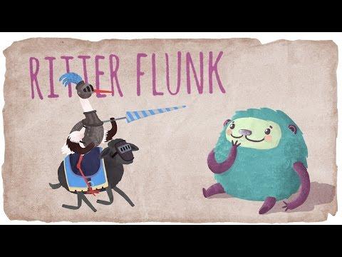 Die Geschichte vom Ritter Flunk - für Kinder bei Flunkeblunk   Rittergeschichte   Ritterfilm deutsch