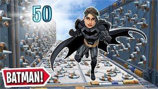 The 50 Level BATMAN DEATHRUN in Fortnite! (Fortnite Creative)