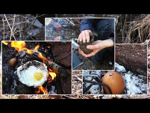Три способа приготовления яиц в походных условиях без использования посуды