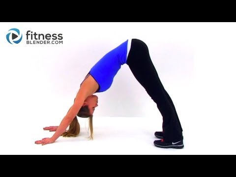Yoga for Weight Loss & A Strong Toned Body – Fitness Blender's Yoga Inspired Total Body Toning