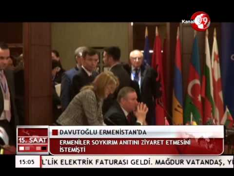 Davutoglu Visited Armenia After 5 Years