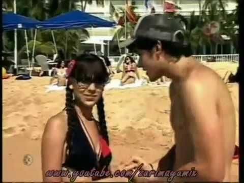 Patito y mateo divirtiendose en acapulco