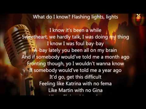 Kanye West - Flashing Lights Lyrics