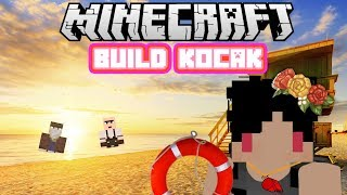 Video Minecraft Indonesia - Build Kocak (45) - Pantai! MP3, 3GP, MP4, WEBM, AVI, FLV Februari 2018