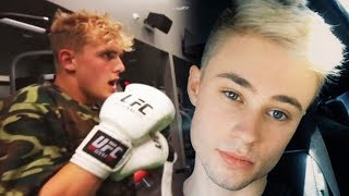 Jake Paul & Christian Burns FIGHT? FOOTAGE of Jake Paul Getting Called Out!