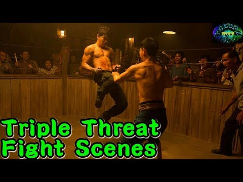 Scott Adkins, Iko Uwais and Tony Jaa Fight Scene