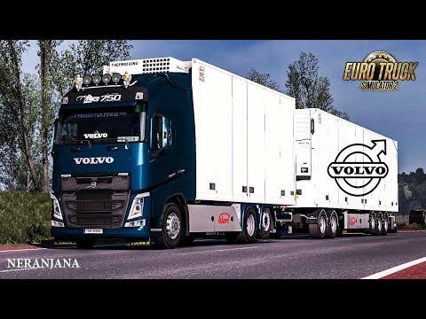 Kraker, NTM, Ekeri, VAK Tandem addon for Volvo FH 2012 1.35.x