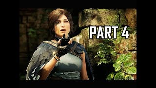 Shadow of the Tomb Raider Walkthrough Part 4 - Temple (Let's Play Gameplay Commentary)