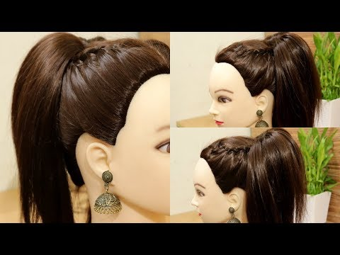 Simple Side French Braid with High Ponytail  French Braid Hairstyles  Hairstyles