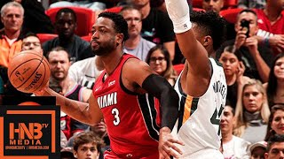 Miami Heat vs Utah Jazz Full Game Highlights | 12.02.2018, NBA Season