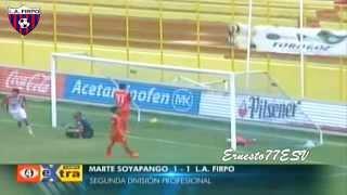 Marte Soyapango 1-1 C.D. LuisÁngel Firpo - Fútbol Salvadoreño Cuartos de Final partido de Ida