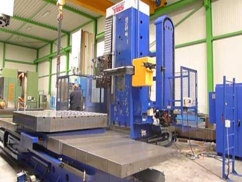 Jig borer TOS WHQ 13 CNC 2004