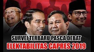 Video SURVEI TERBARU Elektabilitas Capres 2019 Jokowi vs Prabowo Subianto Setelah Debat Ke 2 Pilpres 2019 MP3, 3GP, MP4, WEBM, AVI, FLV April 2019