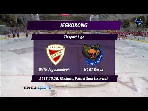 16. forduló DVTK Jegesmedvék - HC 07 Detva 5-4 h.u.