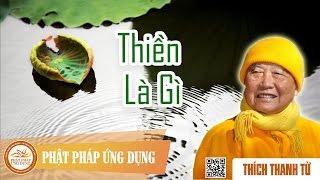 Thiền Là Gì - Thầy Thích Thanh Từ