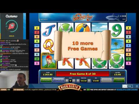 BIG WIN on Sharky Slot -