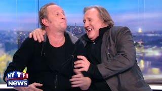 """Video Gerard Depardieu et Benoit Poelvoorde n'ont pas bu de vin pendant """"Saint Amour"""", ils l'assurent ! MP3, 3GP, MP4, WEBM, AVI, FLV Oktober 2017"""