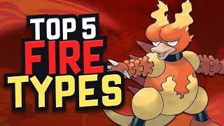 Top 5 Fire Type Pokemon by Karlos Pokemon