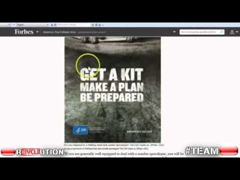New Ebola Virus Cure/Vaccine ZMAPP= Zombie Apocalypse?