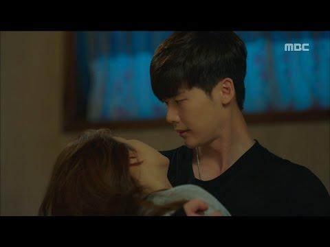 [W] ep.12 Han Hyo-joo fell down! 20160831