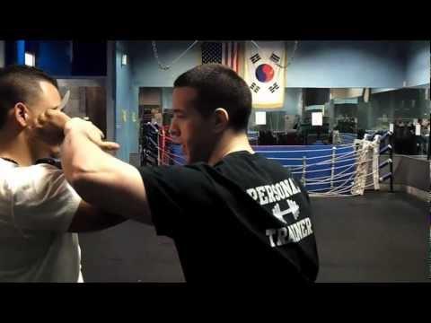 Self Defense Knife Disarming Martial Arts Technique Part 1