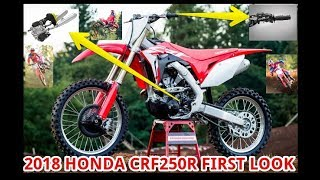 10. 2018 Honda CRF250R First Look