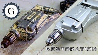 Video Electric Drill Restoration | Very Old Hitachi Drill Restoration MP3, 3GP, MP4, WEBM, AVI, FLV Maret 2019