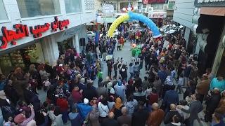 إفتتاح مدينة كاندي لاند لألعاب الأطفال في مجمع أبو حسيب التجاري