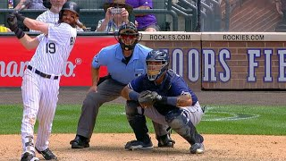 Charlie Blackmon hammers a two-run home run to right-center, capping off a six-run 4th inning for the Rockies Check out...