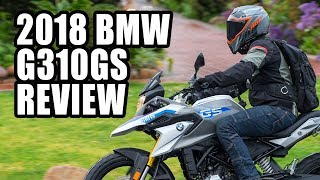 3. 2018 BMW G310GS Review