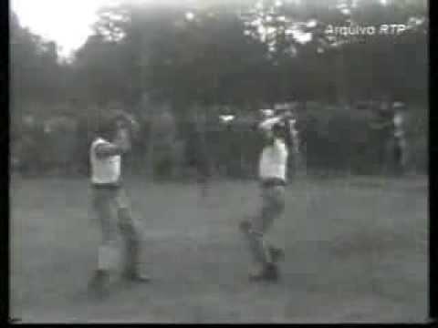 Jogo do Pau (Portuguese Stick Fighting) & First World War Bayonet Training - Portuguese Army