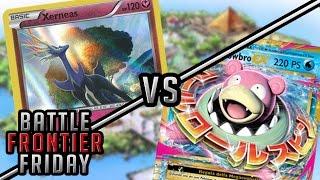Pokémon TCG Matchup - Rainbow Road Xerneas vs Mega Slowbro EX!   Battle Frontier Friday #15! by The Pokémon Evolutionaries