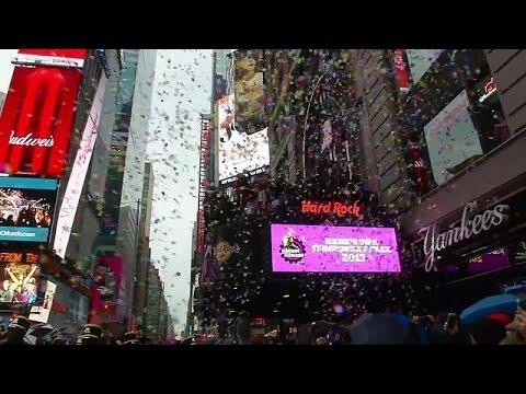 Πρόβα τζενεράλε για το πρωτοχρονιάτικο πάρτι στην Times Square