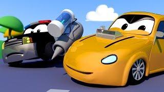 Video La Super Patrulla en Auto City 🚒 🚓  Dibujos Animados de Carros - Transmisión en Vivo MP3, 3GP, MP4, WEBM, AVI, FLV Juli 2018
