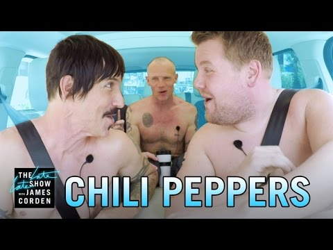 Carpool Karaoke with the Red Hot Chili Peppers