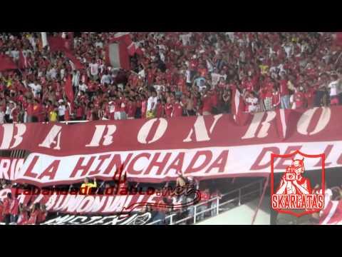 ENTRADA ORQUESTA SKARLATA AMERICA S.A 1 VS O REAL CARTAGENA - Baron Rojo Sur - América de Cáli