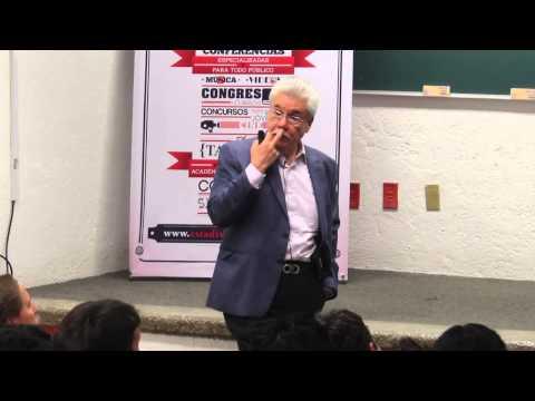 """Conferencia """"Estadística y Democracia"""", por Edmundo Berumen Torres"""