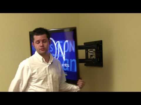 Corner TV Mount - Full Motion TV Wall Mount    Youtube Review