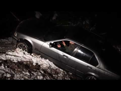 My Dude Thought Things Were Bad When His BMW E36 Was In a Ditch, Then It Got Pulled Out