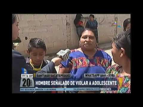 Santiago Sacatepéquez Vecinos Decidieron Tomar Justicia Por Sus Manos